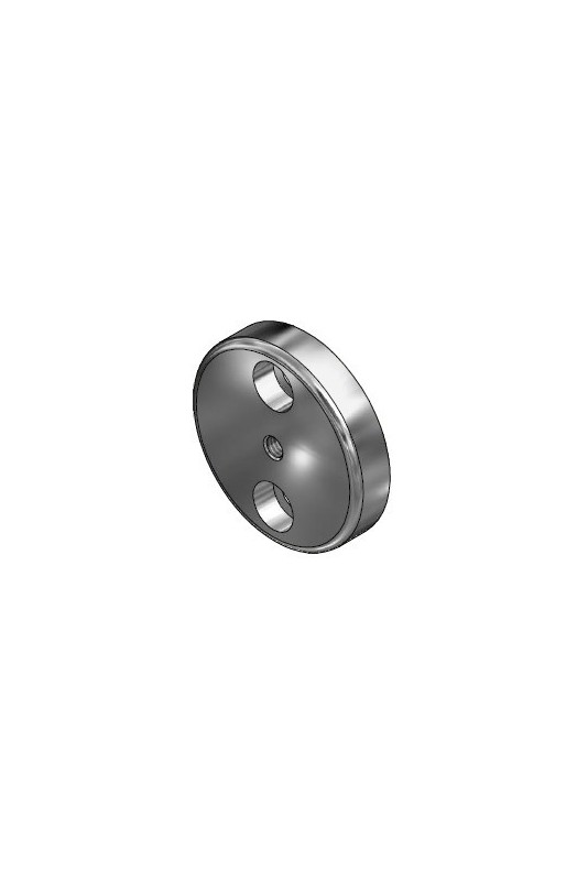 Wall or equipment fittings for medical rails