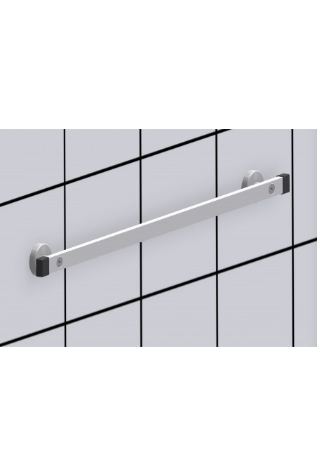 Afstandsbøsning til 2 typer kulisseskinner, længde 18 mm, JB 286-00-18