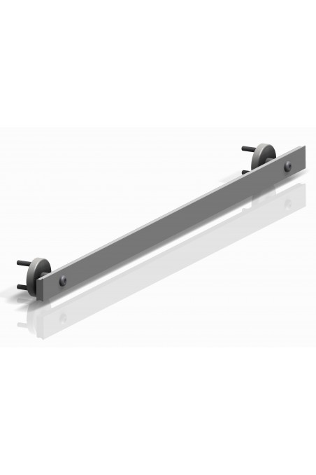 Spacer to two types of wall rails, length 36mm, aluminium, JB 400-00-36