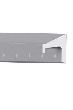 JBM Kulisseskinne, alminium. Skandinavisk Standard 10x30 mm, JBM 100-01-06