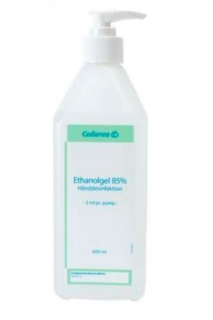 Ceduren, Ethanolgel 85% hånddesinfekt. m.pumpe 2ml dosering, 600 ml,  JB 72-887-38-01