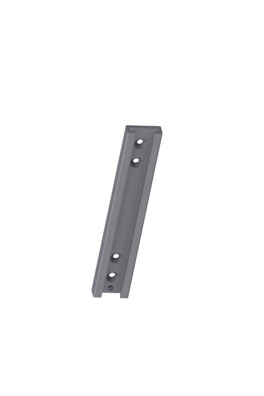 Wall bracket, 3 glove box holders, Aluminium