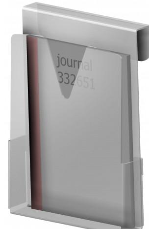 Hospital Journals holder in hard frosted plastic, JB 115-00-00 by JB Medico