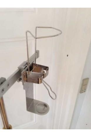 Dispenser, 10 cm arm, drypbakke og adapterbeslag. JB 40-213-102