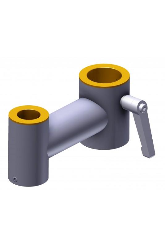Klembeslag Ø30/20mm til montering af IT-udstyr