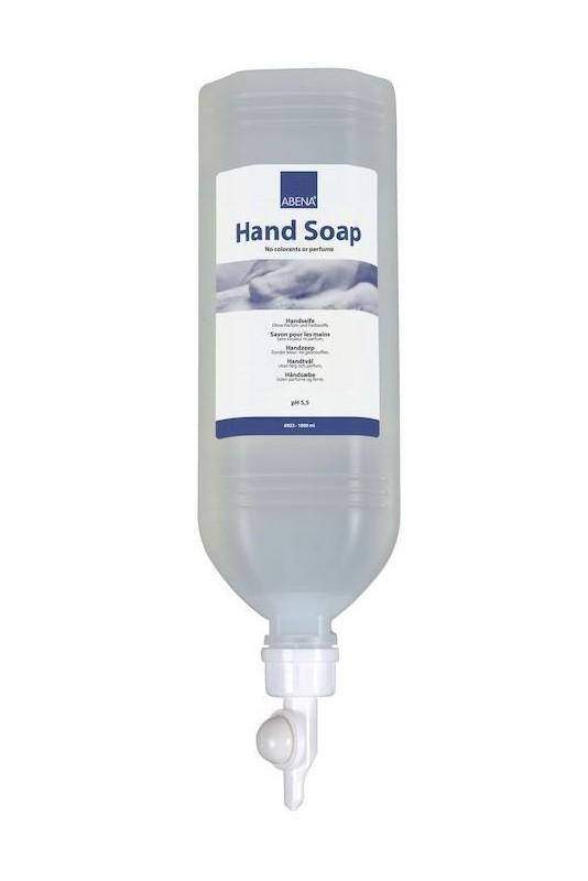Håndsæbe, Abena, uden farve og parfume, 1.000 ml, JB 69-22-02