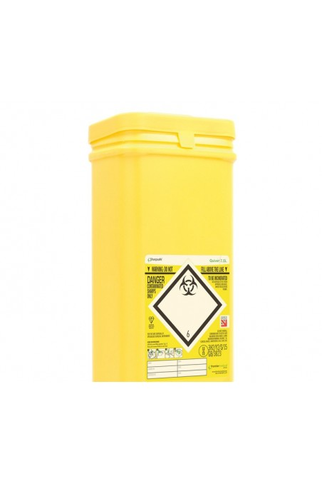 """Bracket for Sharps containers 7,5 litre """"Sharpsafe Quiver."""" JB 279-00-00 by JBMedico"""