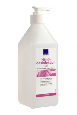 Hand disinfection, gel, with pump, 85% ethanol, 600ml, JB 69-18-02