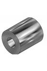 Afstandsbøsning, rustfast stål til 2 typer kulisseskinner, længde 18 mm