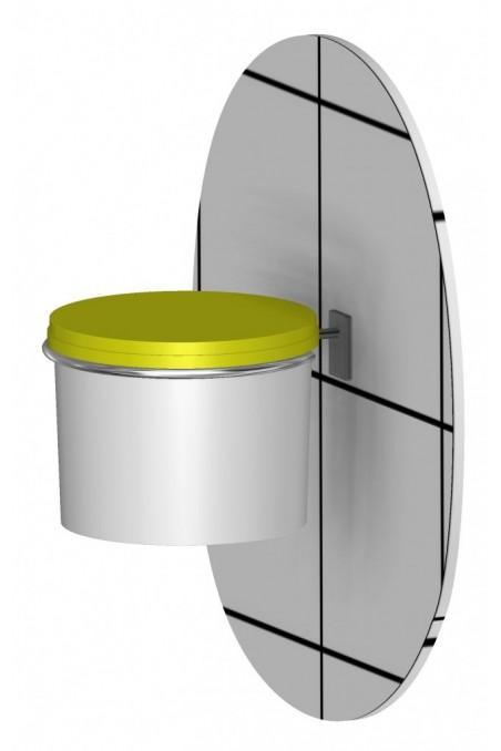 Kanyleboks, USON, gult hængsellåg, kanyleaftræk, UN, 5 Liter, JB 31-535-05-01