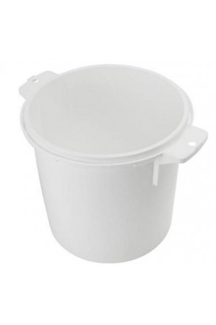 Sharps Container, Uson, 21 litres, white, yellow lid, JB 31-535-20-01