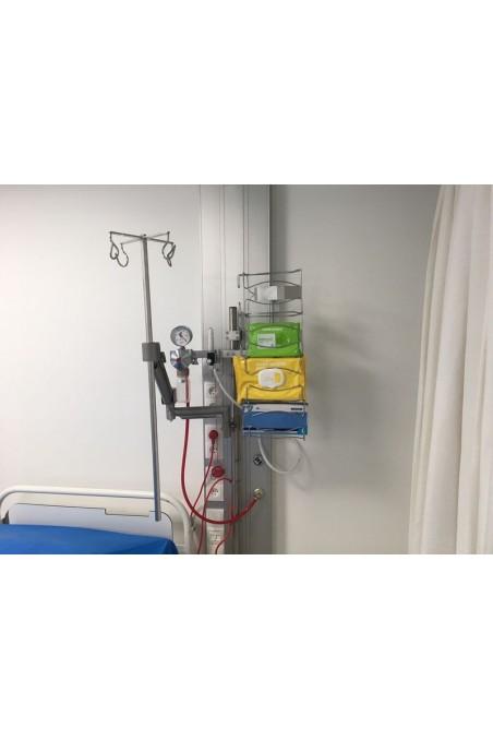 Bottle holder, quadruple for IV Pole. JB 190-00-08 by JB Medico