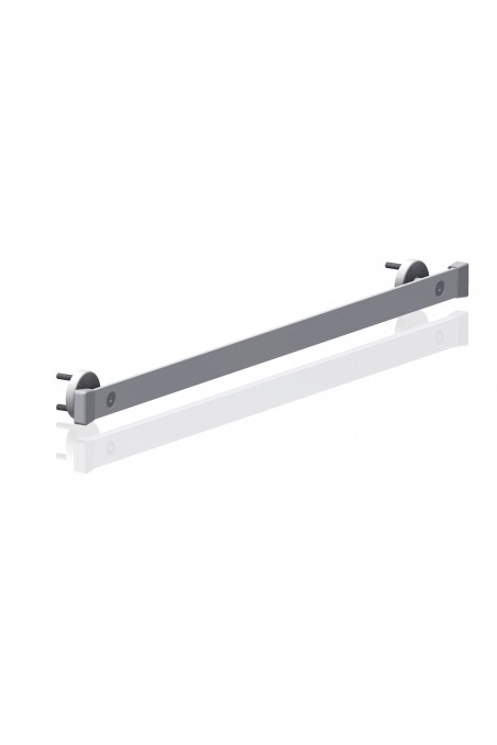 Wall brackets for two types of medical rails, stainless steel, JB 286-00-00