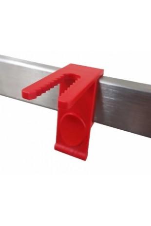Slangeholder til EU DIN 10X25mm, Standard kulisseskinner, JB 600-10-25 af JB Medico