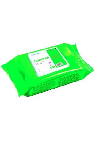 Wet Wipe Universal Asthma Allergy, MINI, green, 30×20 cm, 41133 by JB Medico