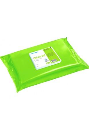 Wet Wipe Universal Asthma Allergy, MAXI, green, 43×30 cm, 41153, by JB Medico