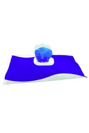 Wet Wipe Disinfection 70%, Maxi Blue, 42x28cm, 51154, af JB Medico