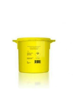 Klinion Easycare, boks gul, kanyleaftræk, 21L, JB 315-89-36 af Jb medico