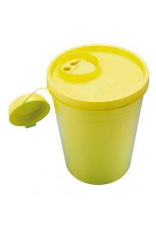 Uson kanylebøtte, gul låg,...