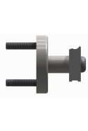 Spacer to two types of wall rails, length 18mm, JB 400-00-18 by Jb Medico