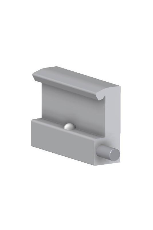 Rail Clamp, wide model, locked with one ball lock, JB 103-00-00 by JB Medico