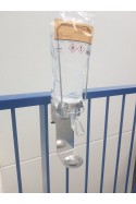 Dispenser, 6 cm arm, drip tray and adapter bracket for 1-litre bags, JB 98-213-102 by JB Medico