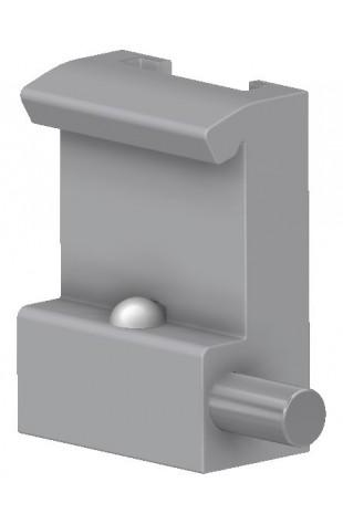 Kulisseklo, smal model med 1 kuglelås og T-spor. JB 120-00-00
