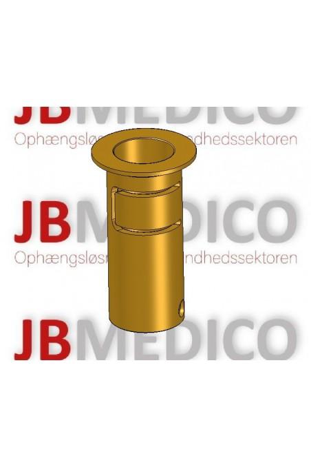 Messing bøsninger med hul, Ø20mm,  JB 22-00-05