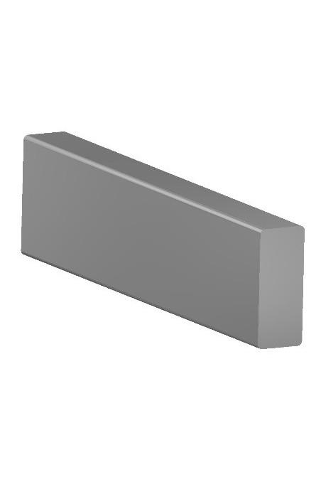 Rail Clamp, a wide model, two-ball clasp, three holes, JB 144-03-00 by JB Medico