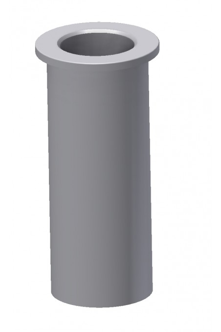 Slide clamp, wide model, locked using two socket screws. JB 206-03-18 by JB Medico