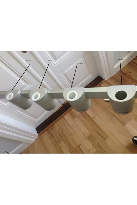 Plast bøsninger med hul, Ø16mm, diameter 16. JB 127-00-01