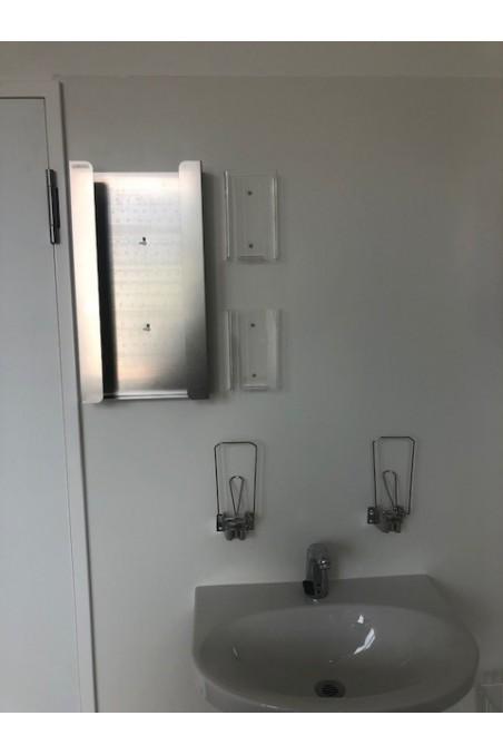 Alcohol & Soap Dispenser, 1-litre Bags, 10 cm Arm. JB 42-90-03