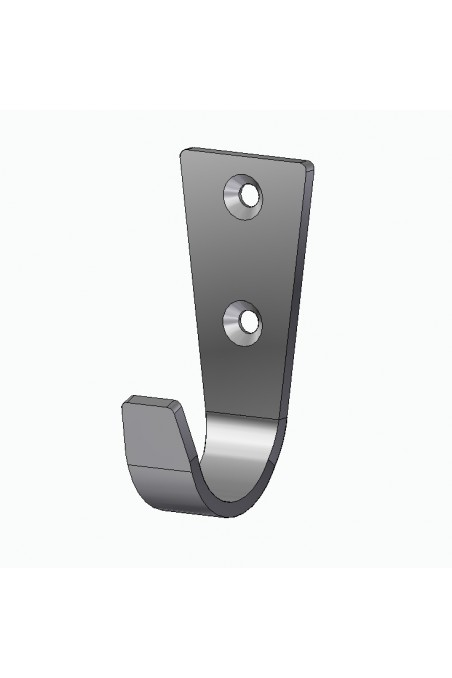 Wall bracket, bed Gallows in stainless steel up to Ø38 mm. JB 146-045-38 by JB Medico