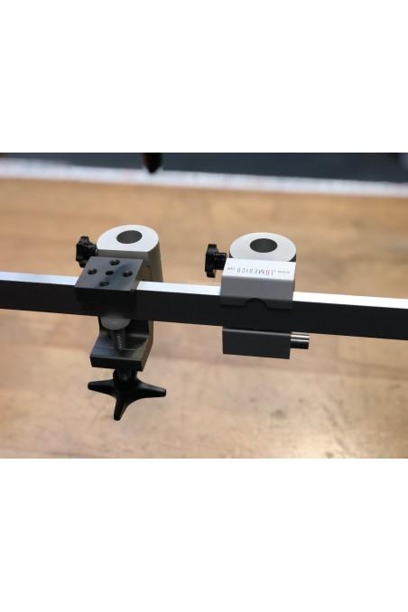 JBM Massive Alu DIN 10x25 mm. Medical Equipment Rail, JB 252-00-00 by JB Medico