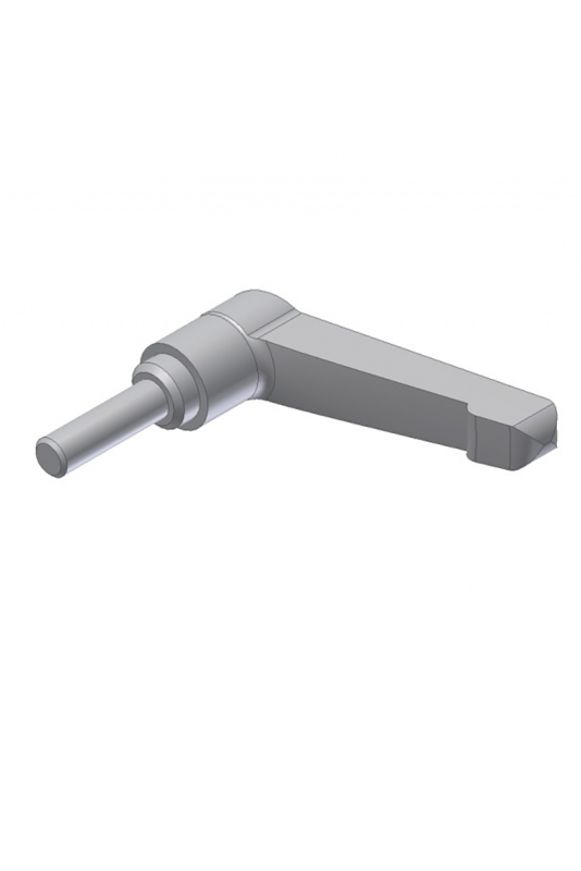 Adjustable handle M6x20mm, stainless steel