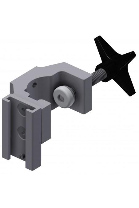 Multibeslag, T-spors beslag, passer fra Ø16-41mm. JB 158-00-163