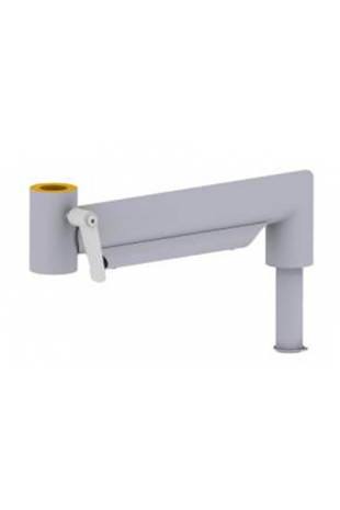 Manuel extension monitor arm, stainless steel, JB 22-00-00