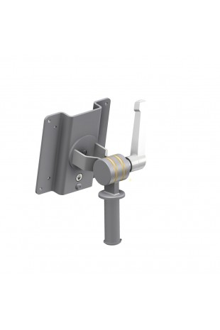Monitor Bracket, Ø20mm, Stainless Steel, VESA 100X100mm / 75X75mm. JB 27-00-00