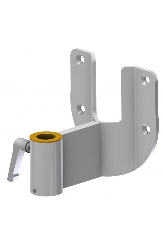 Wall Bracket, Extended, Circular, Ø20mm Hole