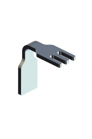 IV Tubing Holder with guide for T-slots, JB 292-00-00
