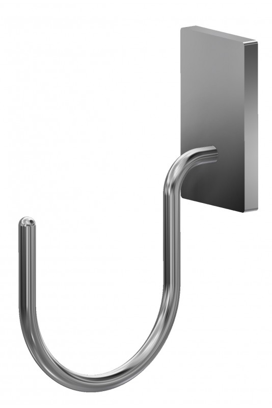 Mask & tubing hook, T-slot bracket