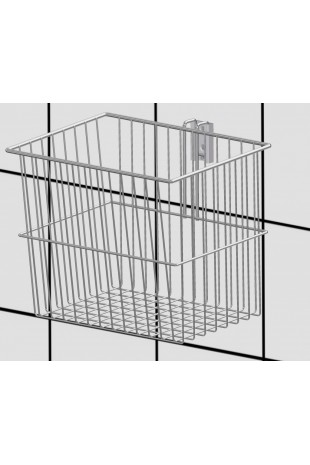 Wire basket 15 L, conical, hook for T-slot, JB 161-02-01