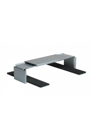 CPU-holder, horizontal, in black: 1100,  aluminium: 1140