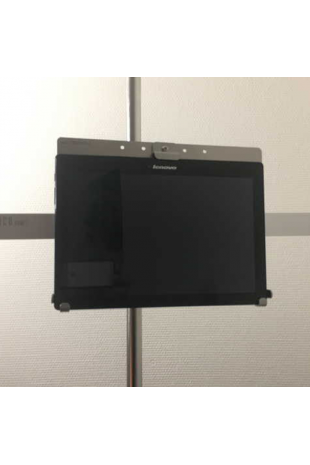 Tablet / Ipad holder, mounted with rail clamp 10x30mm. JB 248-19-206
