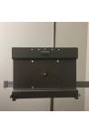Ipad/Tablet-holder, monteret med kulisseklo
