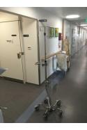 Hjulbase, buede ben, infusionsstativer. JB 168-01-00