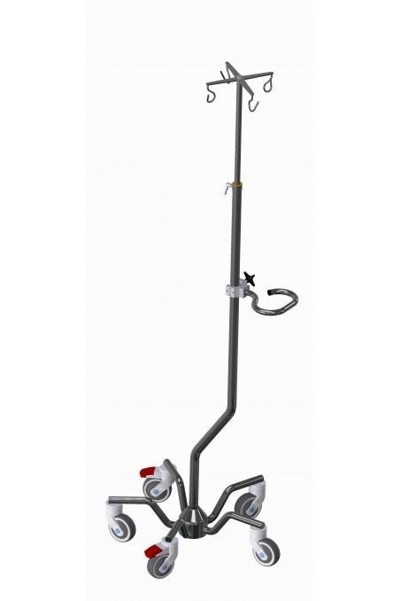 Bottle holder, quadruple for IV Pole. JB 190-00-08