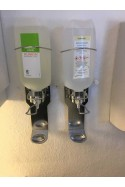Soap and alcohol dispenser for bottles, 14 cm arm. JB 06-21-30, by JB Medico