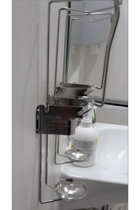 Drip Tray, Soap & Alcohol Wire Dispensers Ø60mm. JB 71-72-51 by JB Medico