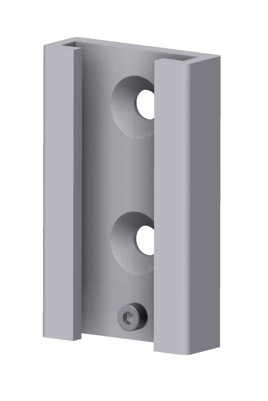 Vægbeslag til kanylebokse, handskeholder og dispensere mm.